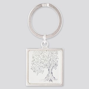 Whimsy tree Keychains