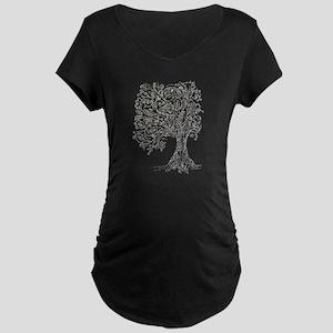 Whimsy tree Maternity T-Shirt