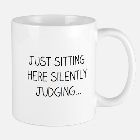 Silently Judging Mugs
