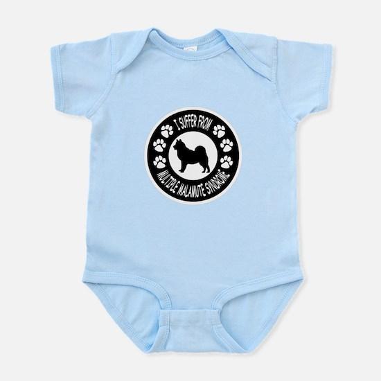 Alaskan Malamute Infant Bodysuit