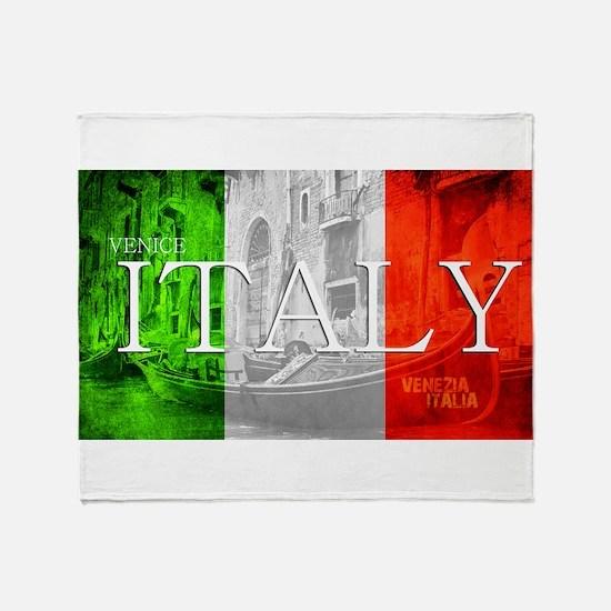 VENICE ITALY GONDOLA Throw Blanket