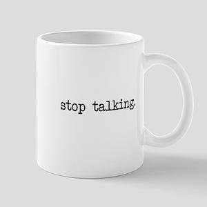 Stop Talking Cards Mugs