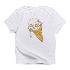 Cute Skull Ice Cream Cone Infant T-Shirt