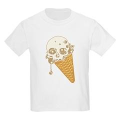 Cute Skull Ice Cream Cone T-Shirt