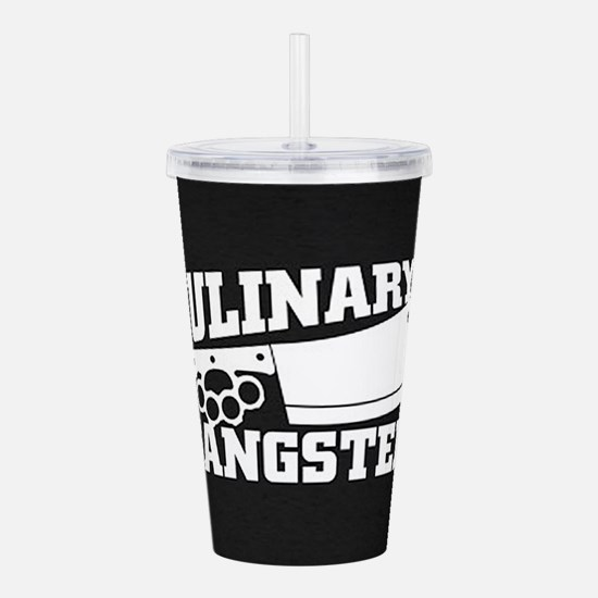 Culinary Gangster Acrylic Double-wall Tumbler