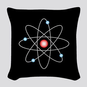 Atomic Woven Throw Pillow