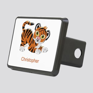 Personalized Tiger Design Rectangular Hitch Cover