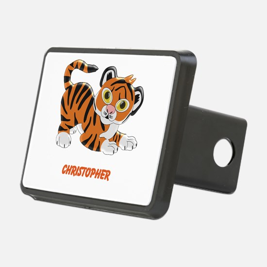 Personalized Tiger Design Hitch Cover