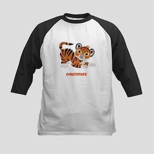 Personalized Tiger Design Baseball Jersey