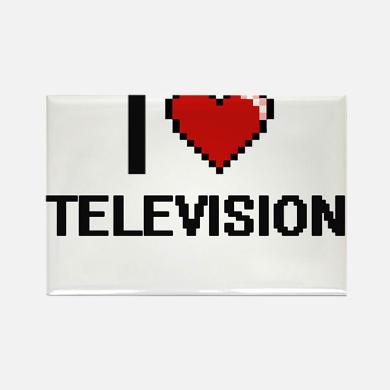 I love Television Digital Design Magnets