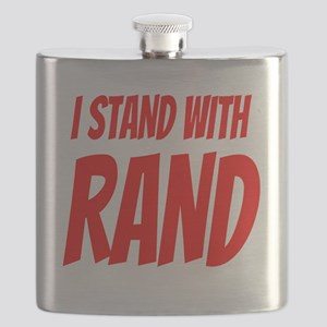 I Stand With Rand Flask