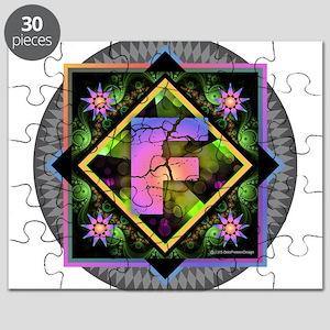Bold Beautiful F Puzzle