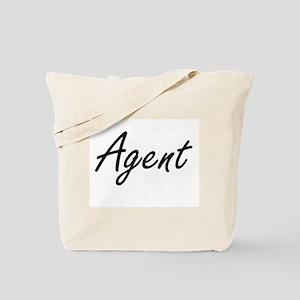 Agent Artistic Job Design Tote Bag