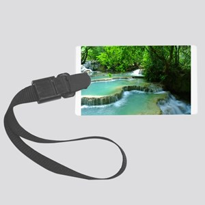 Stepped Waterfall Luggage Tag