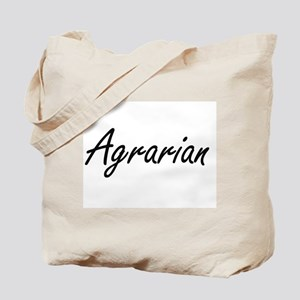 Agrarian Artistic Job Design Tote Bag
