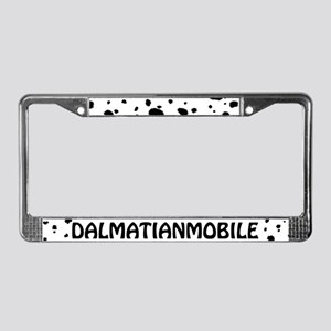 Dalmatianmobile License Plate Frame