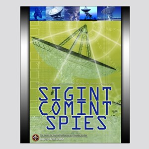SIGINT/COMINT Spies 16x20 Small Poster