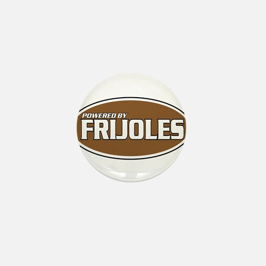Powered By Frijoles Mini Button