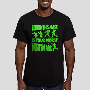 WORST NIGHTMARE Men's Fitted T-Shirt (dark)