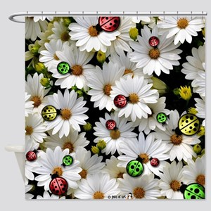 Ladybugs Shower Curtain