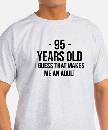 95 Years Old Adult T-Shirt