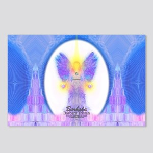 444 Angel Crystals Postcards (Package of 8)