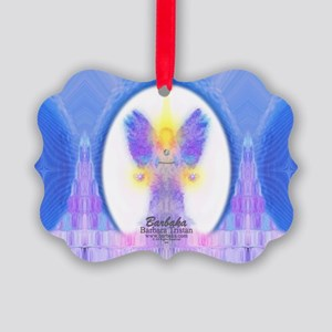 444 Angel Crystals Picture Ornament