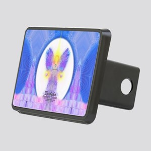 444 Angel Crystals Rectangular Hitch Cover