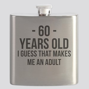 60 Years Old Adult Flask