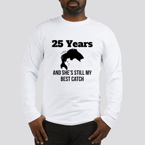 25 Years Best Catch Long Sleeve T-Shirt