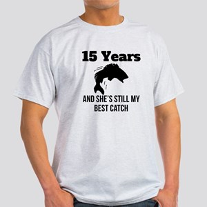 15 Years Best Catch T-Shirt