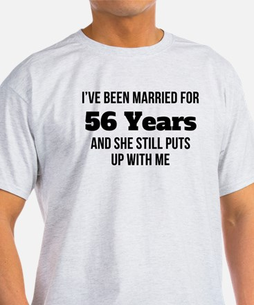 Ive Been Married For 56 Years T-Shirt