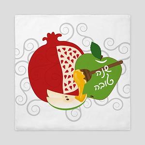 Shana Tova Holiday Design Queen Duvet