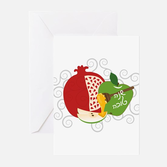 Shana Tova Holiday Design Greeting Cards