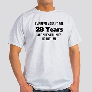 Ive Been Married For 28 Years T-Shirt