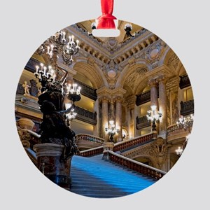 Stunning! Paris Opera Round Ornament