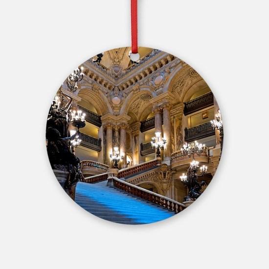 Stunning! Paris Opera Round Ornament