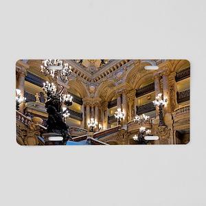 Stunning! Paris Opera Aluminum License Plate