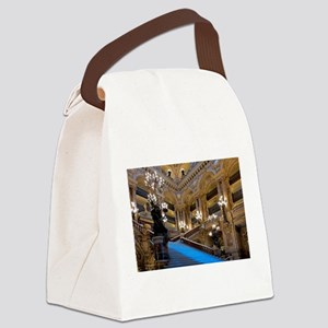 Stunning! Paris Opera Canvas Lunch Bag