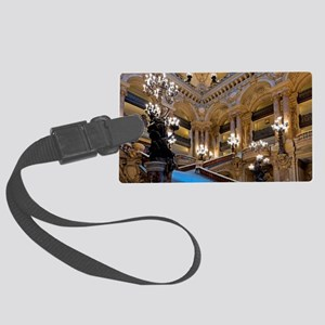 Stunning! Paris Opera Large Luggage Tag