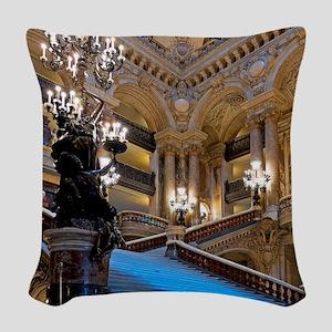 Stunning! Paris Opera Woven Throw Pillow