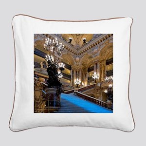 Stunning! Paris Opera Square Canvas Pillow
