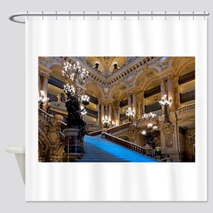Stunning! Paris Opera Shower Curtain