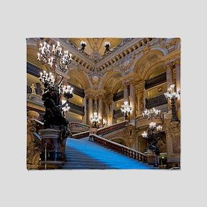 Stunning! Paris Opera Throw Blanket