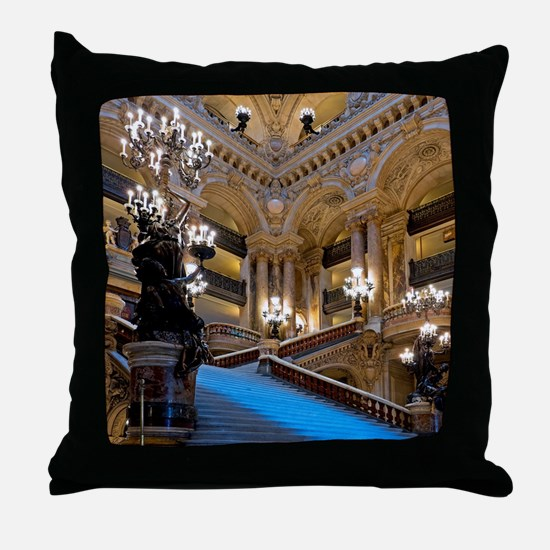 Stunning! Paris Opera Throw Pillow