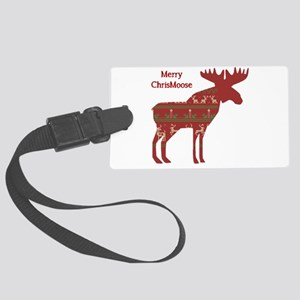 Fun Christmas Moose in Sweater Design Chrismoose h