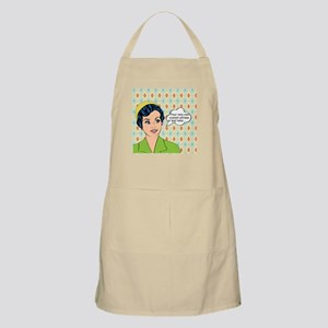 Custom Text Pop Art Woman Apron