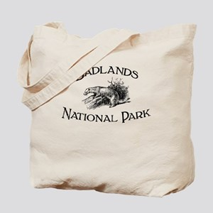 Badlands National Park (Ferret) Tote Bag