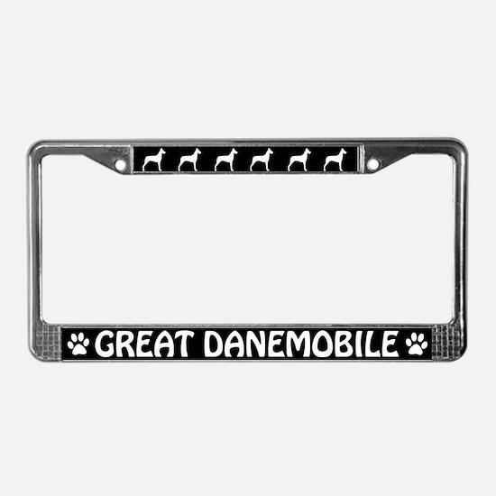 Great Danemobile License Plate Frame