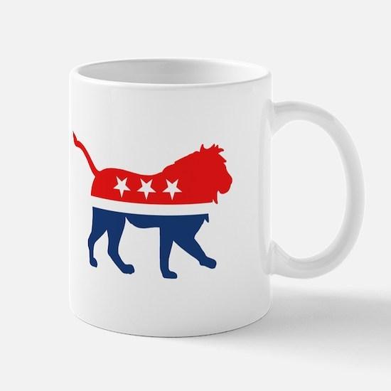 Political Lion Mugs